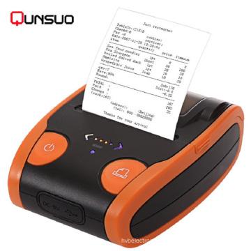 Impressora térmica portátil Bluetooth de 2 polegadas Android / IOS