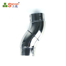 Adjustable pipe connector pipe flush angles elbow