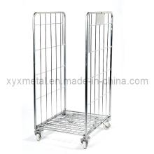 Zwei Türen Metall Hand LKW Mesh Roll Container