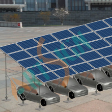 Sistemas De Montaje Solar Sobre Suelo: PARA Parkings (AS-M14)