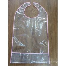 Delantal personalizado PVC transparente de la impresión de los niños
