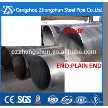 Tuyau en acier soudé en spirale ssaw fabriqué en Chine