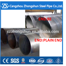 ssaw spiral welded steel pipe made in China