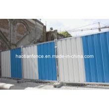 Steel Hoarding Fence Panel