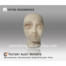 3D-Stereo tattoo practice head-lips eyebrow Practice Dermis Fake Skin