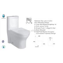 CB-9058 hochwertige CUPC zertifiziert einteilige Keramik CSA chinesische Toilette