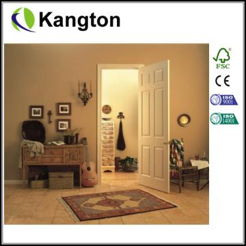 Puerta interior moldeada HDF Puerta interior hueca (puerta central hueca)