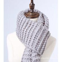 Super longue écharpe en maille tricotée surdimensionnée pour femme (KA103)