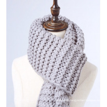 Women′s Chunky Knit Super Scarf Oversized Knitted Long Scarf (KA103)