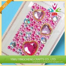 Поддельные кристалл Свадебные украшения прекрасный декор для девочек