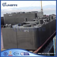Pontão flutuante para dragagem para construção e dragagem marinha (USA1-023)