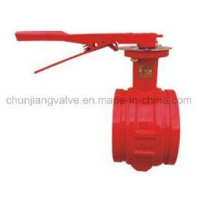 Fire Protection Clamp Handle Butterfly Valve