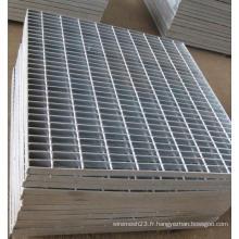 Plaque / panneau de grille en acier à plate-forme