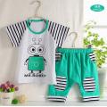 Summer Short-Sleeved Infant Apparel