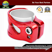 CNC Machining Aluminum Hose Clamp with Anodized