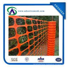 Low Price Orange Color Plastic Safety Fence Hot Sale