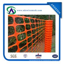 Preço Baixo Laranja Cor Cerca De Segurança De Plástico Venda Quente