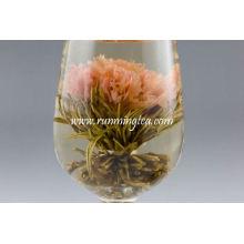 Chá da flor do cravo Chá da flor do chá de florescência chinês