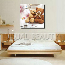 Little Bear Giclee Printed Canvas Picture for Kids