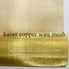 hebei anping KAIAN 0.25mm wire 30# copper fine mesh screens