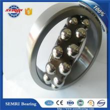 Rodamiento de bolitas autoalineable (1222K) Rodamiento de una sola vía fabricado en China