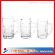 Taza de cristal de cerveza