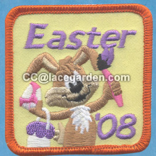 Cute Cartoon Design Merrowed Embroidery Patches