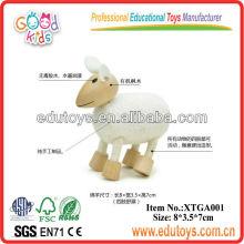Brinquedos de animais para crianças Brincos de madeira