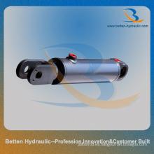 Cilindro de amortiguación de dirección hidráulico manual con horquilla