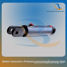 Cilindro manual de almofada de direção hidráulica com fivela