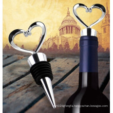 Promotion Gifts for Wine, Loving Heart Wine Bottle Stopper