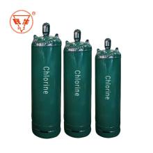Bouteille de chlore liquide en acier soudé
