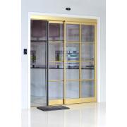 Porta deslizante automática interior para cozinha