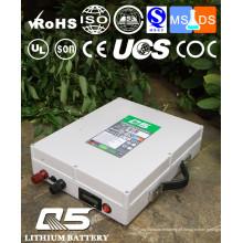 12V120AH Baterias de lítio industriais Lithium LiFePO4 Li (NiCoMn) O2 Polymer Lithium-Ion recarregável ou personalizado