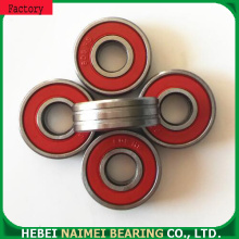 Doubel grooved rooler ball bearings 608