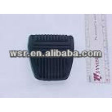 Foot pad compression molded rubber cover
