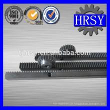 Pinhão e cremalheira de engrenagem de alta precisão CNC para vendas quentes