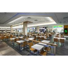 Sistema de los muebles del restaurante de la comida rápida de la fabricación de China para cenar (FOH-FCS2)