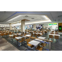 China Manufacturing Fast Food Restaurant Furniture Set for Dining (FOH-FCS2)