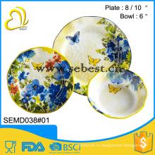 оптовые цены, используемые ресторан многоразовый пластик меламин посуда