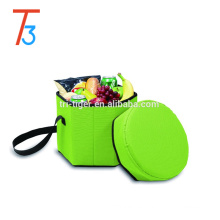 Cooler bag cooler seat insulated cooler bag & shoulder strap bag
