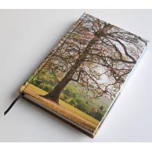 Carnet de couverture rigide d'impression colorée
