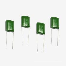 Condensador verde caliente Tmcf01 Cl11 de la película de poliéster de Topmay