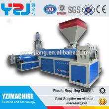 Machine de recyclage plastique YZJ 155 pour PE et PP, PS, ABS et machines pour la production de polypropylène