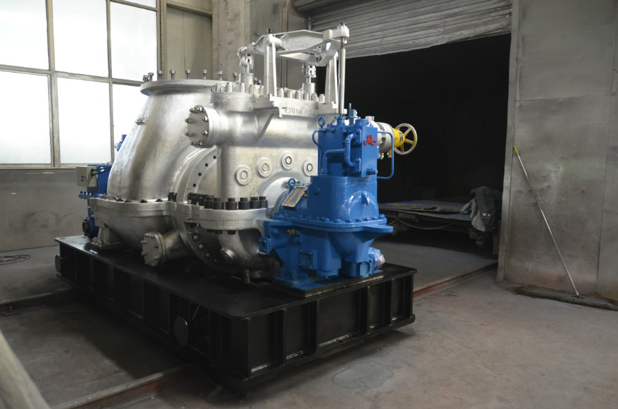 Condensing Steam Turbine 11
