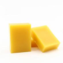 Cire d'abeille jaune de catégorie cosmétique naturelle de cire d'abeille pour le rouge à lèvres cosmétique de nourriture