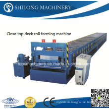 Moderne Design Metall Deck Roll Forming Machine