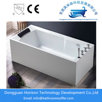 Rectangular White Freestanding Bath
