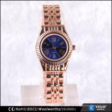Quarz kleine Armbanduhr Legierung Damen Uhren