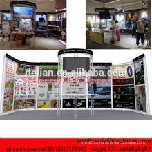 Stand de exhibición modular de braguero de aluminio 1661USA 10x20 para SHANGHAI SHOW EN abril de 2016